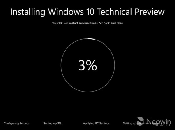 Инсталлятор Windows 10 получит совершенно новый интерфейс