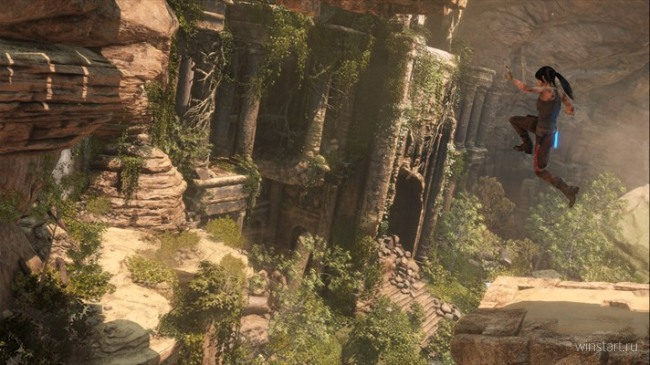 Игра Rise of the Tomb Raider выпущена для Windows 10